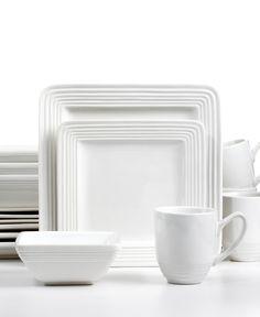 99.99\u003d Laurie Gates Dinnerware Dekko Vintage White 16 Piece Set - Casual Dinnerware -  sc 1 st  Pinterest & Laurie Gates Dinnerware | For the Home | Pinterest | Gates ...