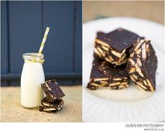Marie biscuit squares recipe, images by Lauren Kim Photography Biscuit Recipe For Kids, Chocolate Squares, South African Recipes, Easter Recipes, Quick Easy Meals, Decoration, Chocolate Recipes, Marie Biscuits, Kids Meals