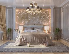 Discover exquisite chandeliers, table lamps, wall lamps, suspension lamps, and many other lighting fixtures crafted by gifted furniture makers with the best materials out there. Luxury Bedroom Design, Bedroom Closet Design, Luxury Rooms, Luxurious Bedrooms, Luxury Interior, Home Decor Bedroom, Interior Design, Bedroom Wall Designs, Bedroom Styles