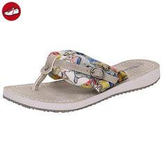 Tamaris 1-27109-26 Schuhe Damen Pantoletten Zehentrenner , Schuhgröße:41;Farbe:Beige