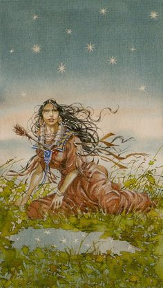 XVII. The Star: Native American Tarot