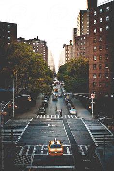 New York street by Sophia van den Hoek #stocksy #realstock