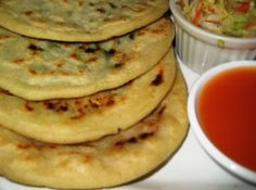 Bean and Cheese Pupusa from Un Solo Sol Kitchen in Los Angeles, CA