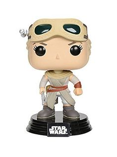 Funko Pop Star Wars: The Force Awakens Rey Hot Topic Exclusive Funko Pop Star Wars, Funko Pop Marvel, Episode Vii, Pop Vinyl Figures, Star Wars Episodes, Funko Pop Vinyl, Bobble Head, Hot Topic, Action Figures