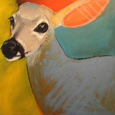 Beautiful painted animals by Rebecca Haines!
