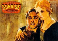 Sunrise (1927)  Near the very end of the SIlent Era, just a month before Warner Bros. turned the film world upside down with The Jazz Singer, F. W. Murnau's lyrical cinematic tone-poem Sunrise was released. It is appropriate that this film ushered out the era of purely visual film language, for they just couldn't get much better or purer than this.  For the uninitiated, we also discuss the world of the Silent Cinema in the first part of this broadcast.