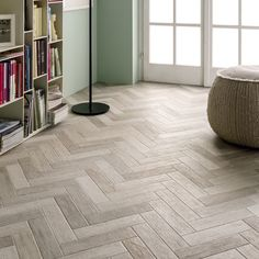 Herringbone White
