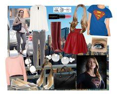 Kara Zor-El/Supergirl: Supergirl by movielooks on Polyvore featuring Derek Lam, Glamorous, Funlayo Deri, Frame, Diane Von Furstenberg, Jimmy Choo, Paul & Joe, BERRICLE, Pori and Oliver Peoples