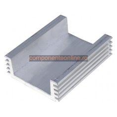 Radiator aluminiu 50x40x15mm - 006220