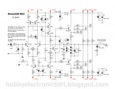 Please visit Electronic Circuit: Powerful high quality amplifier for more detail information. Hifi Amplifier, Class D Amplifier, Electronic Circuit, Electronic Engineering, Electrical Circuit Diagram, Ab Circuit, Medium Format Camera, Electronics Projects, Planer