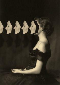 Matthieu Bourel's Bizarre Collages and GIFs Deconstruct Vintage Photographs | Hi-Fructose Magazine