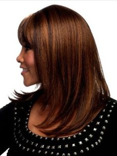 Medium Length Hairstyles for African American-2