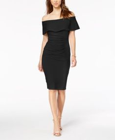 138e3ff50c9a Off-The-Shoulder Sheath Dress