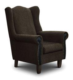 BIANCA W/B GIGI BROWN *M* in Wingbacks & Tub Chairs - Lounge - Furniture   House & Home