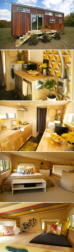 The Climber House, designed and build on Tiny House Nation
