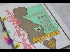 Diario di Gravidanza Fai da te-Mini Album Scrapbooking- Pregnancy Journal DIY