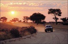Sunset, Kgalagadi Transfrontier Park.