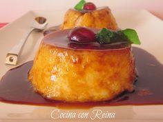 FLAN DE NARANJA | Cocinar en casa es facilisimo.com