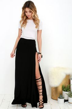 d31ea8137b6 49 Best Maxi skirt with cropped top images