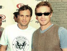 Mark Ruffalo & Simon Baker