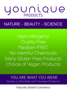 Hooray for really safe make up!! No nasty chemicals :D I'm sold!