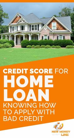 Credit Score For Home Loan: Knowing How To Apply With Bad Credit. It is the desire of every person to ensure having his own home where he can live happily with his family. Purchasing a home can be termed to be a rewarding thing for the beloved ones. Credit Score Range, What Is Credit Score, Improve Your Credit Score, Home Equity Loan, Unsecured Loans, No Credit Loans, Best Interest Rates, Home Buying Process, Credit Bureaus