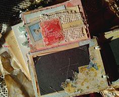 Хоббимания... с теплом... от сердца к сердцу: мини-альбом для семейных фотографий (короткое видео и фото)