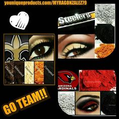 #gorgeous #dreamcatcher #lashes #makeupaddict #mascara #loveit #love #libra #makeupenthusiast  #salonowners #eyes #pigments #face #gameday #repyourteam #neworleanssaints #louisiana #pitsburgh #steelers #cardinals #arizona #football  I got you covered regardless of what your team is.....represent in style! !  https://www.youniqueproducts.com/MYRAGONZALEZ79