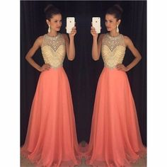 New Arrival Chiffon Prom Dress,Beading Prom Gown Dress,Evening