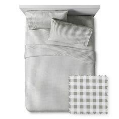 Gingham Sheet Set - Pillowfort™ : Target