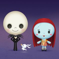A little Nightmare Before Christmas tribute