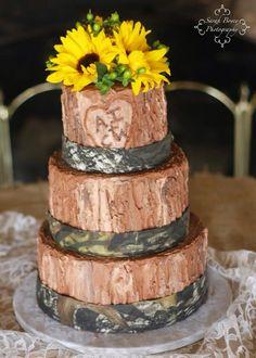 Camo wedding by A New Beginning Florist-Moore, OK. Camo Wedding, New Beginnings, Food, Essen, Meals, Yemek, Eten