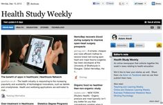 Sept 10 - Health Study Weekly is out:  An online newspaper that collects together the week's news relating to health education.  Read and subscribe free at: http://paper.li/f-1327779598
