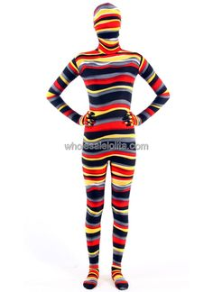 Hot Sale new Halloween Colorful Catsuit in Lycra