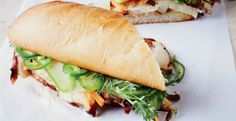 Five-Spice Chicken Banh Mi Sandwiches Recipe | http://aol.it/1vHExg3