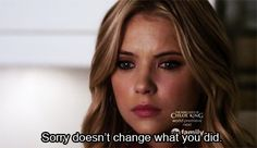 Pin for Later: 42 Pretty Little Liars Quotes That Will Inject Some Melodrama Into Your Life When the Delivery Guy Forgets Your Cheesy Bread