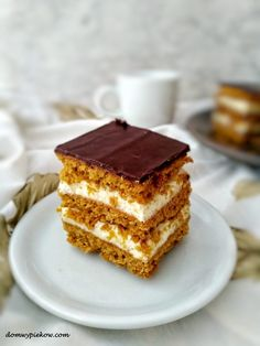 Morning Food, Morning Coffee, Carrots N Cake, Christmas Appetizers, Polish Recipes, Tiramisu, Kitchen Design, Dessert Recipes, Food And Drink