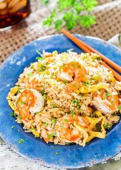 Easy Shrimp Fried Rice Recipe on Yummly