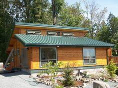 840 sf custom cedar home Cedar Homes, Kit Homes, Washington, Cabin, Outdoor Decor, House, Home Decor, Homemade Home Decor, Home