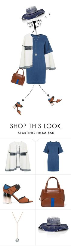 """""""On the go"""" by noconfessions ❤ liked on Polyvore featuring WALL, MANGO, Warehouse, Marni, TIBI, Yoko London and Lola"""