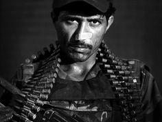 Afghan soldier portrait