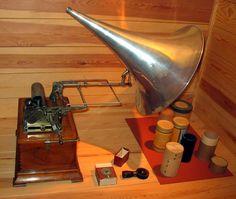 Fonograf 01 ubt - Fonógrafo - Wikipedia, la enciclopedia libre