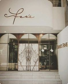 F l o r a h m i s t shop facade, retail facade, shop front design, coffee shop design, nail Shop Front Design, Design Shop, Commercial Design, Commercial Interiors, Facade Design, Door Design, Shop Interior Design, Retail Design, Tienda Fashion
