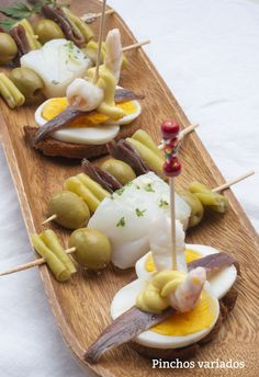 Canapes Recipes, Appetizers, Quiches, Finger Foods, Entrees, Brunch, Menu, Eggs, Breakfast