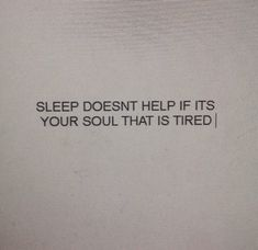 quote, soul, and tired image
