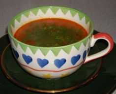 Mehudehra (Albanian Garlic soup)