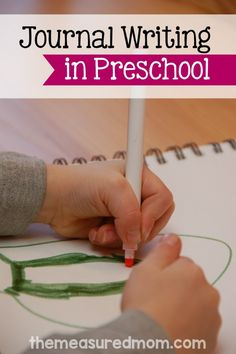 Are you teaching preschoolers to write? You'll love this post with 6 helpful tips for journal writing in preschool.
