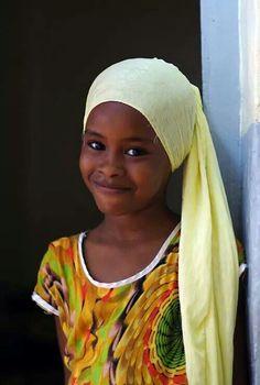 Fille Sénégalais.