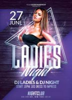 Ladies Night Party | Psd Flyer Templates by RomeCr by RomeCreation