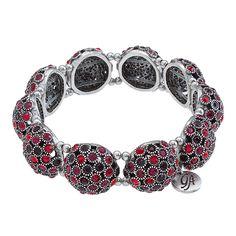 Bauble-Bangle Red Grace Adele Bracelet  Available in 6 different colors! karenfinley.graceadele.us